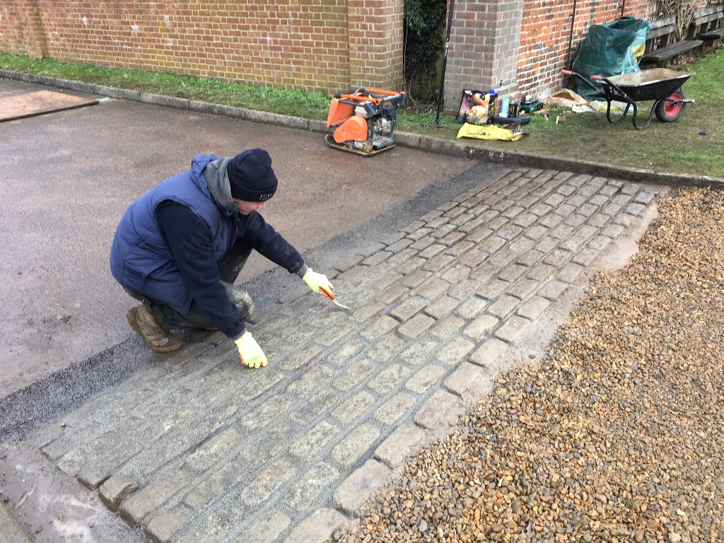 Commercial hard Landscaping in Hertfordshire