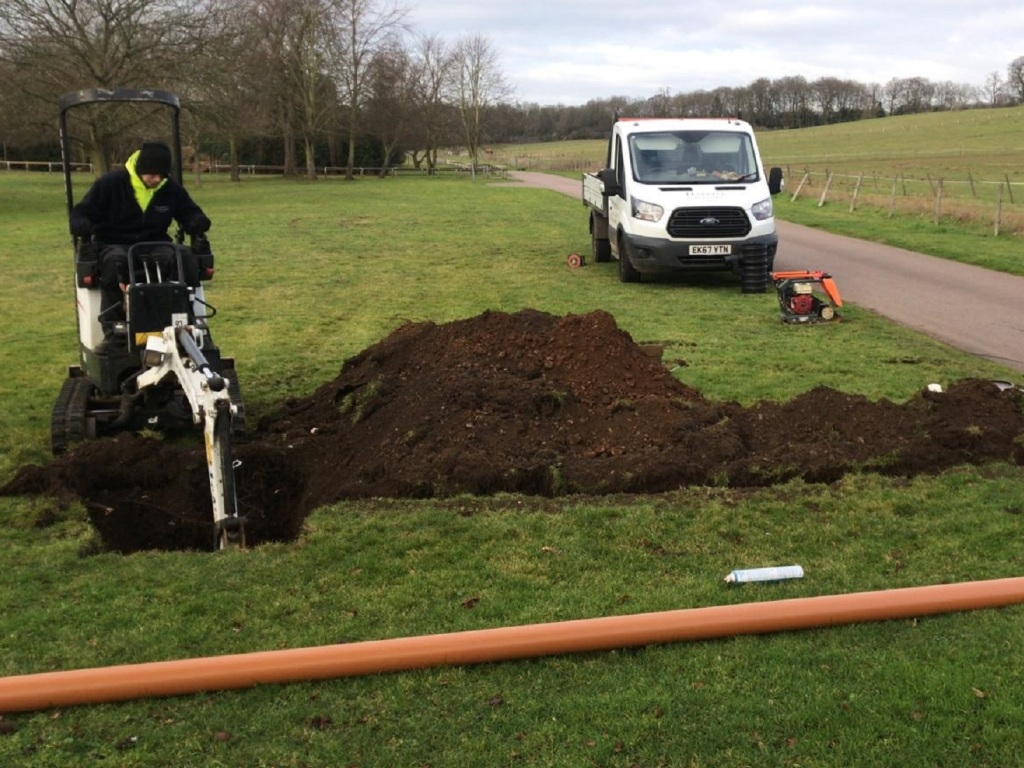 civil drainage groundworks