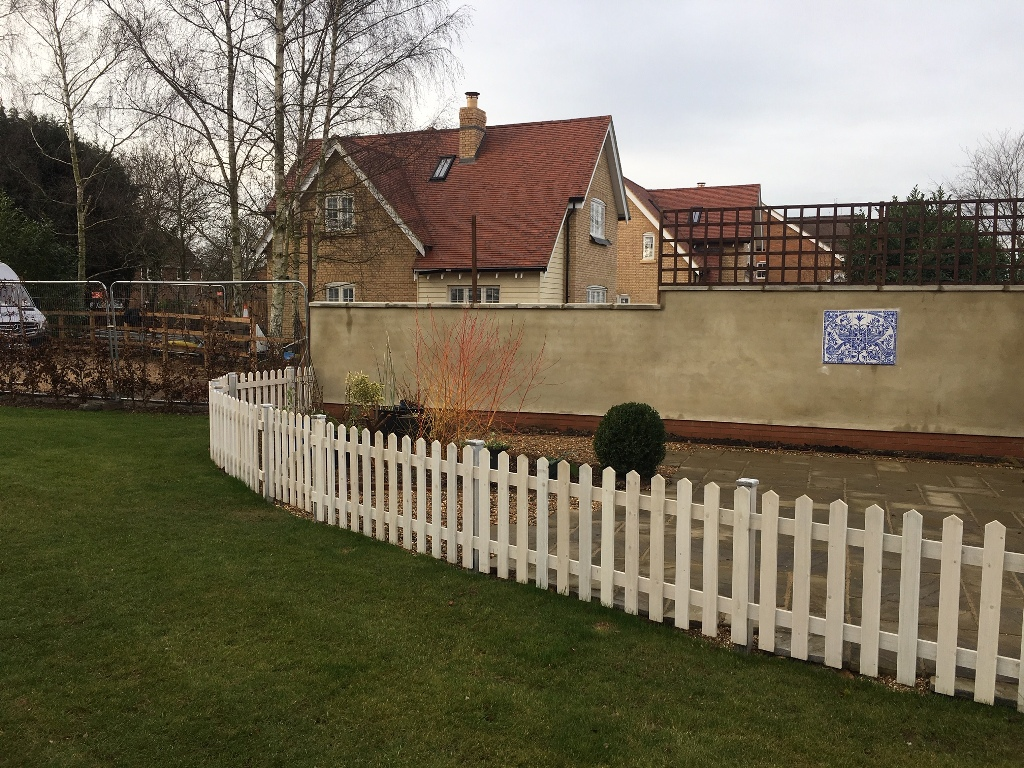 New build landscaping Hertfordshire