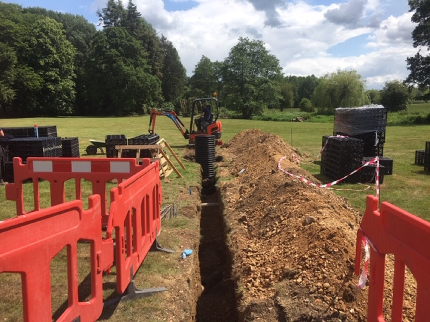drainage groundworks