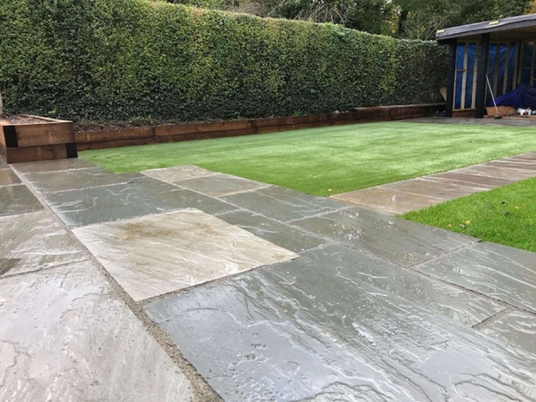 Garden Transformation after