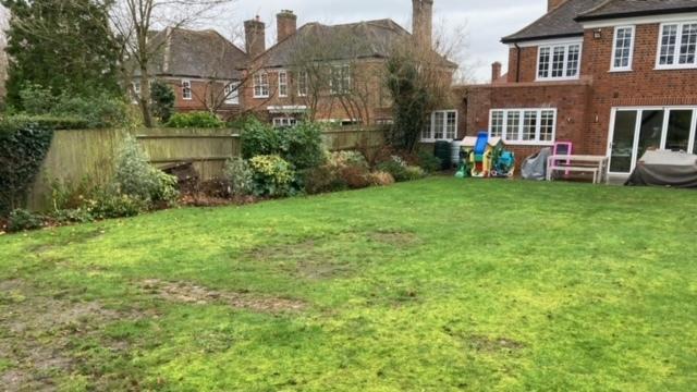 Welwyn Garden City Garden Transformation 2021 Before